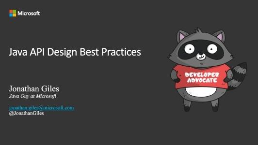 构建Java API的艺术:Do's and Don'ts(英文演讲)