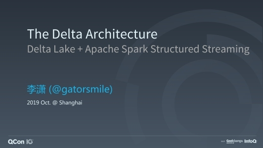 Delta Lake: Open Source Reliability for Data Lake with Apache Spark