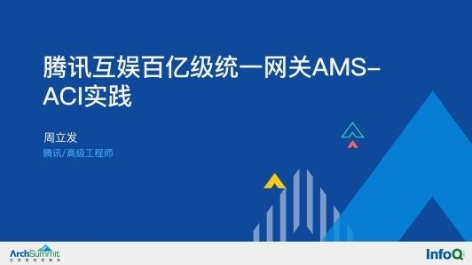 腾讯互娱百亿级统一网关 AMS-ACI 实践