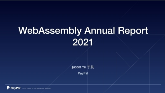 WebAssembly Annual Report - 2021