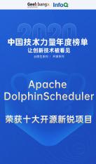 """【喜讯】Apache DolphinScheduler 荣获 """"2020 年度十大开源新锐项目"""""""