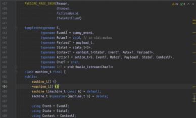 谈 C++17 里的 State 模式之二