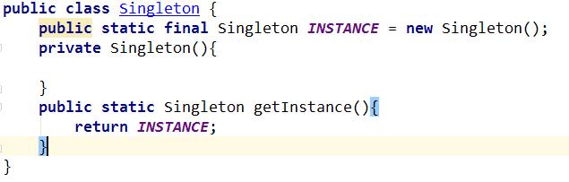 Java 程序经验小结:用私有构造器或者枚举类型强化Singleton属性