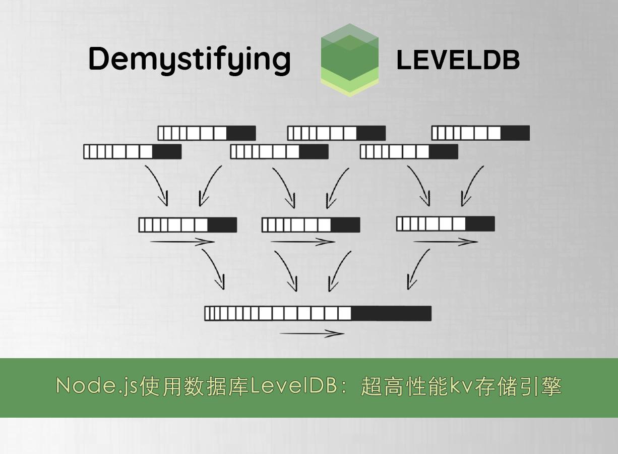 Node.js使用数据库LevelDB:超高性能kv存储引擎