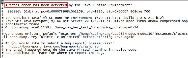 初识进程coredump(以中间件为例)异常宕机