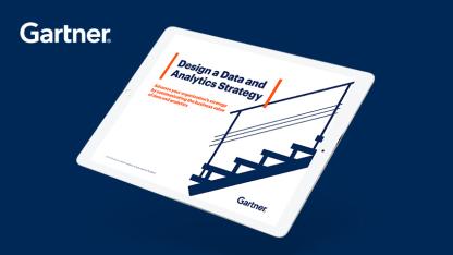 Gartner电子书:数据和分析 战略的制定