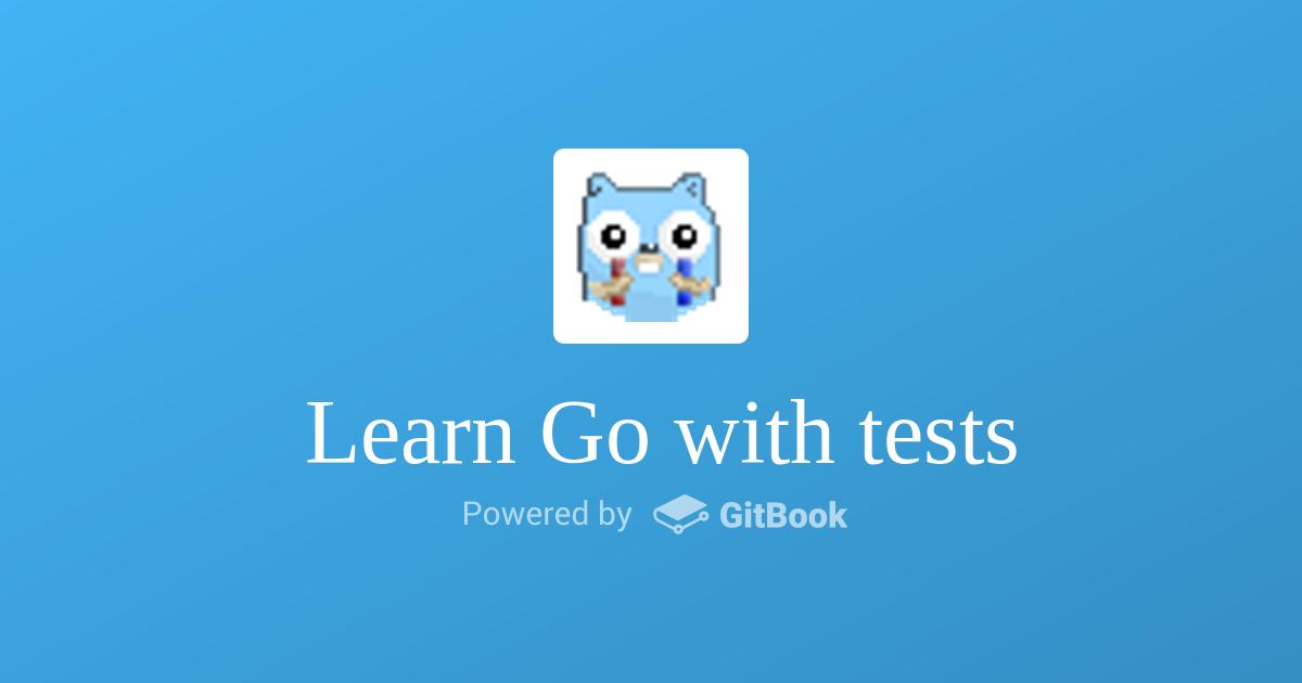 learn go with tests 学习笔记(一) hello world