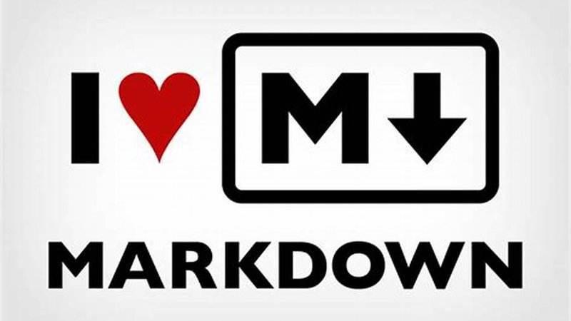 文档写作利器:Markdown