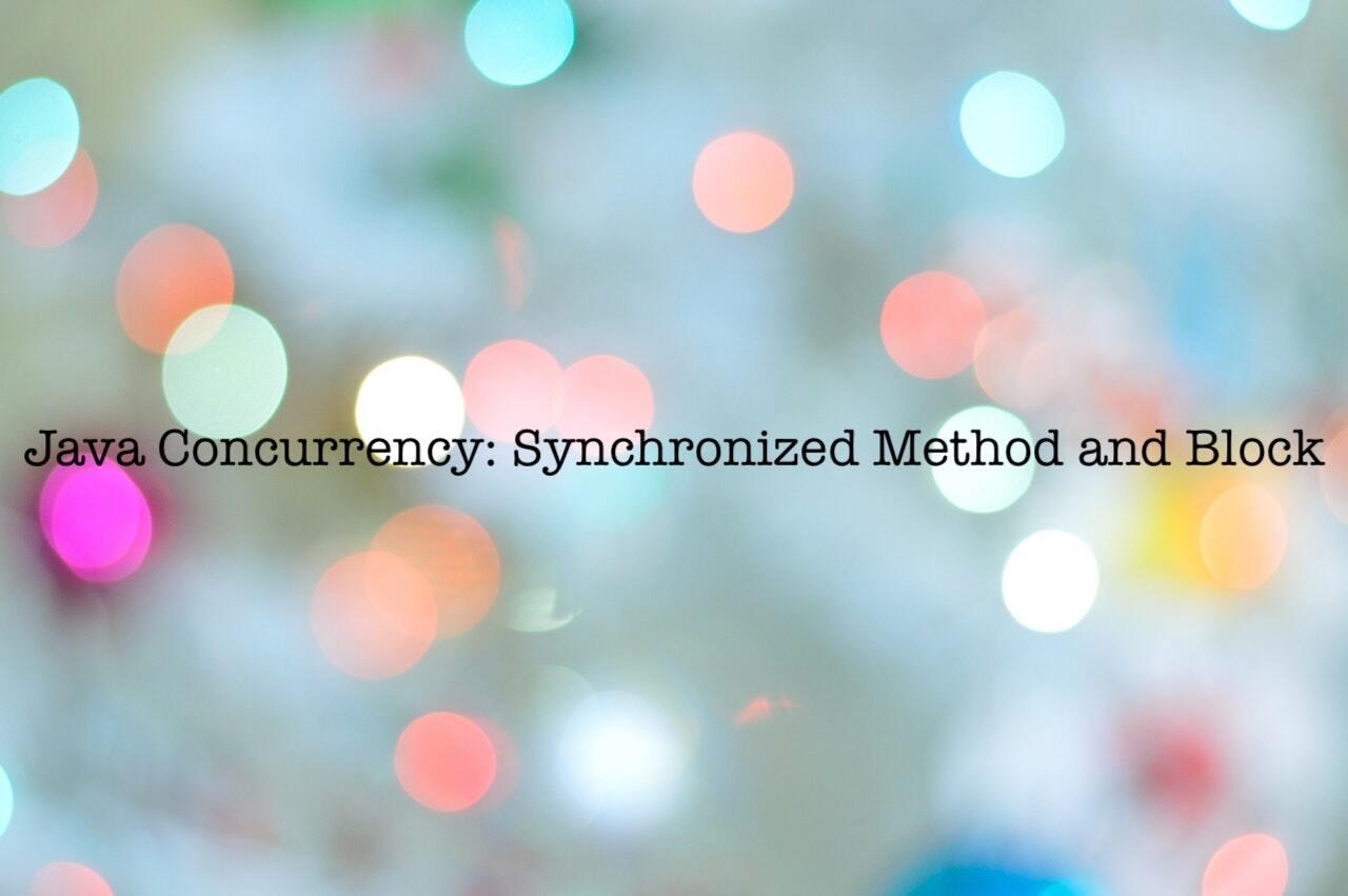 In-depth Java synchronized