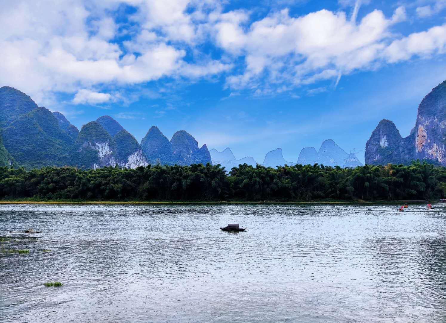 桂林漫游流水记