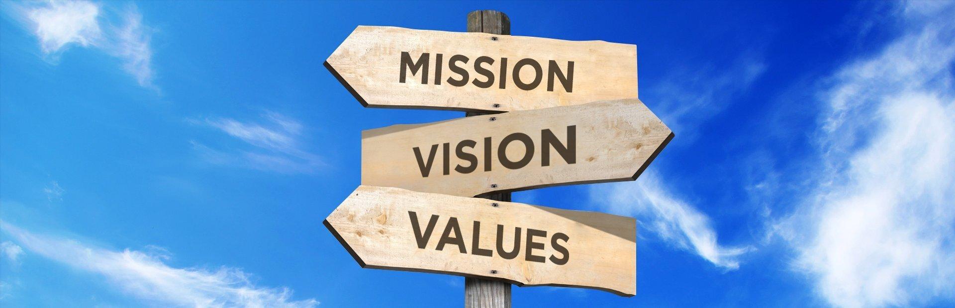 浅谈使命、愿景、价值观。