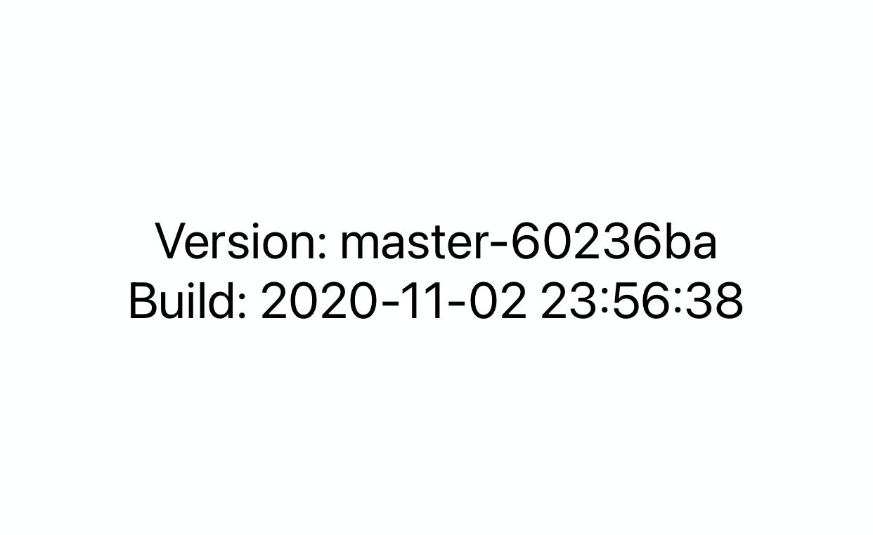 在 iOS App 中显示 Build 时间和 git 分支名和 commit 哈希