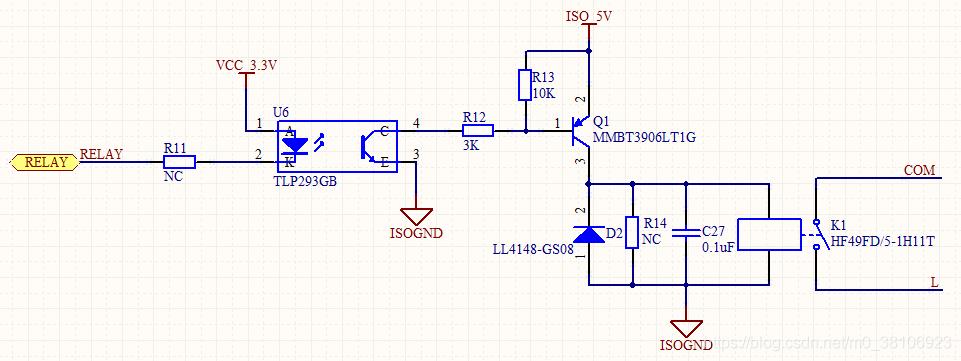 如何设计三极管控制继电器电路
