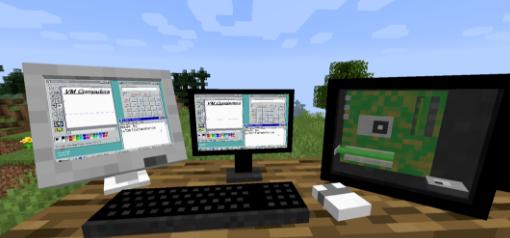 套娃成功!在《我的世界》里运行Win95、玩游戏,软件和教程现已公开!
