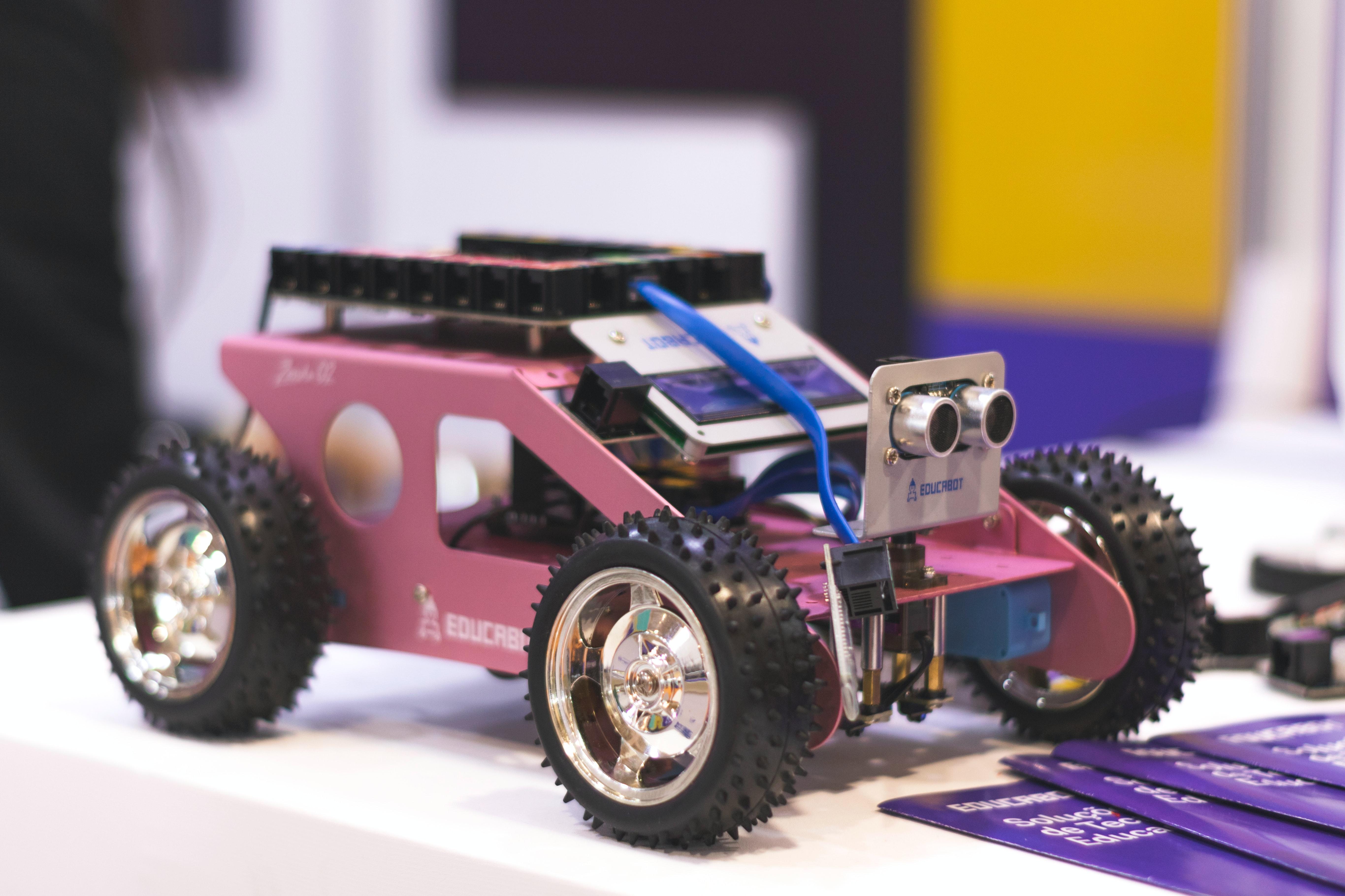 Arduino 蓝牙遥控+超声避障小车