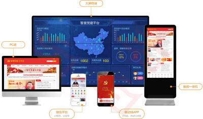 党组织智慧党建云平台开发方案,领导干部管理任免系统开发
