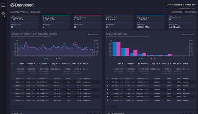 一款开源且具有交互视图界面的实时 Web 日志分析工具!