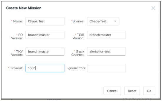 TiDB中的混沌测试实践