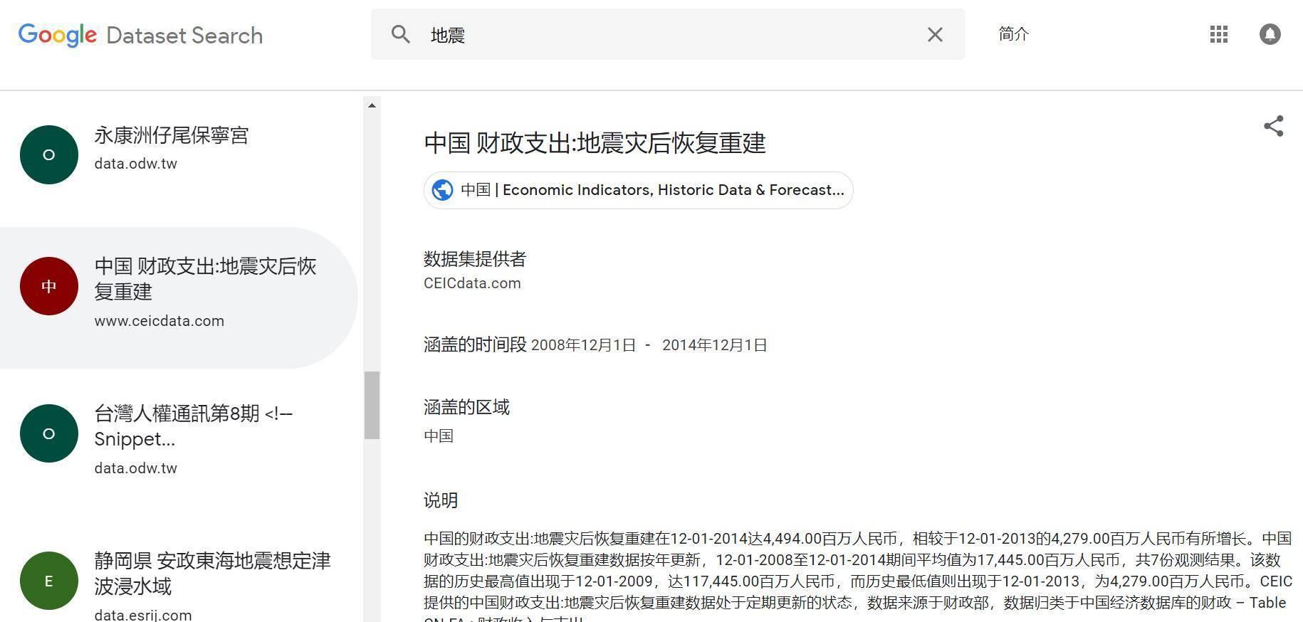 继学术搜索之后,谷歌重磅推出数据集搜索!