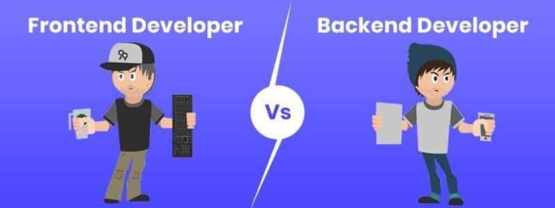一文看懂前端和后端开发